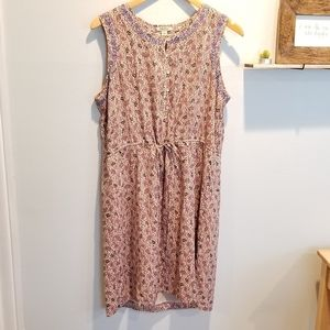 NWOT Lucky Brand sleeveless Paisley print dress